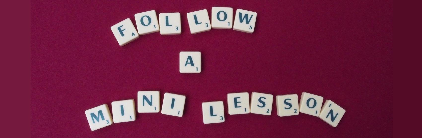 Follow a free mini-lesson / Open Day