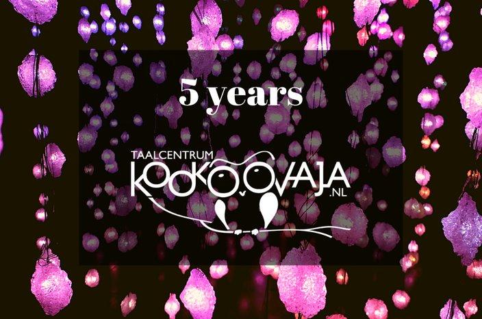 5 year anniversary Kookoovaja